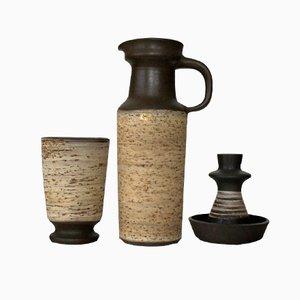 Ceramiche di Jaap Ravelli, anni '60, set di 3