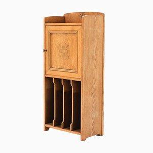 Art Nouveau Oak Cabinet, 1910s