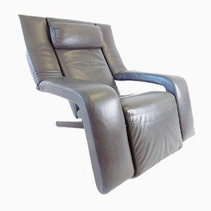 Leather Kilkis Lounge Armchair by Tittina Ammannati & Vitelli Giampiero for Brunati