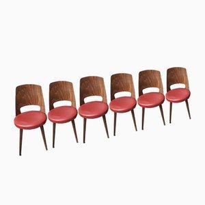 Chaises de Bistrot Mondor de Baumann, Set de 6