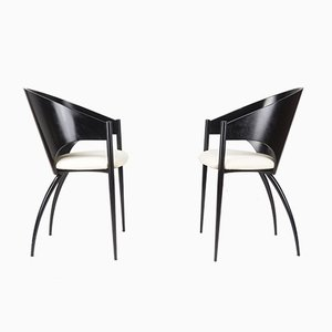 Dining Chairs, Cattelan, Italy, 1980s, Set of 5