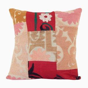 Vintage Turkish Patchwork Suzani Cushion