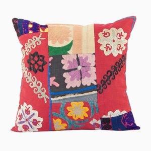 Vintage Square Cotton Suzani Patchwork Cushion Cover