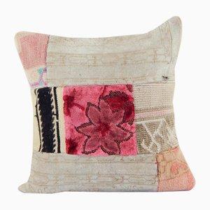 Handmade Modern Velvet Kilim Cushion Cover