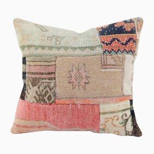 Wool Patchwork Kilim Cushion