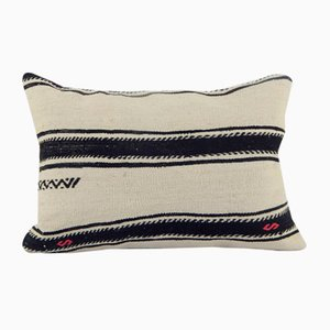 Turkish Kilim Striped Cushion Cover