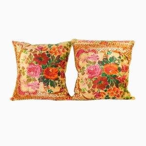 Bohemian Velvet Cushion Cases, Set of 2