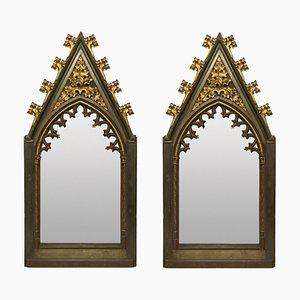 Grands Miroirs Gothiques, Début 19ème Siècle, Set de 2