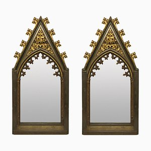 Large Gothic Mirrors, Early 19th Century, Set of 2