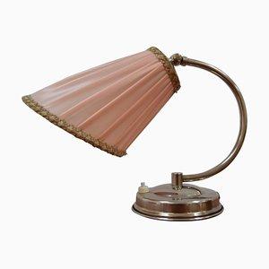 Art Deco Chrome Table Lamp, 1930s