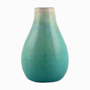 Niederländische Vase aus glasierter Keramik von Pieter Groeneveldt