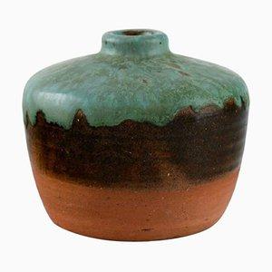 Dutch Vase in Glazed Ceramic by Pieter Groeneveldt