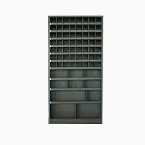 German Industrial Magazine Cabinet from Hans Huber Eisenbaum Zirndorf, 1950s
