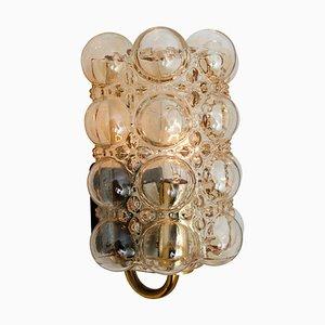 Glas Wandlampe von Helena Tynell für Glashütte, 1960