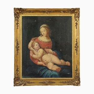 Toile Vierge à l'Enfant