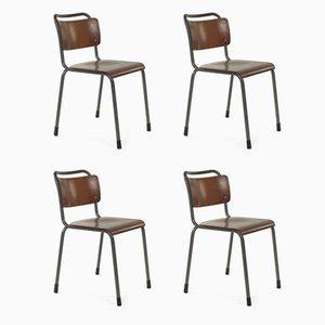 Model 106 Chairs by Willem Hendrik Gispen for Gispen, Set of 4