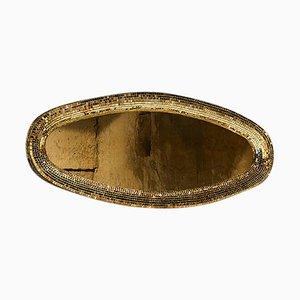 Gold Atollo Mirror by Davide Medri