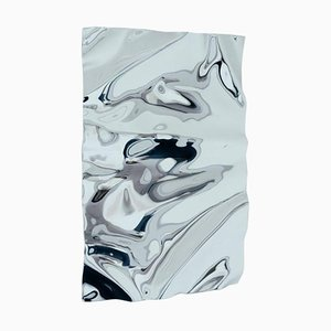 Mittelgroßer psychedelischer Spiegel von Caia Leifsdotter