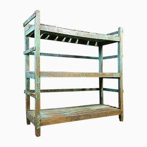 Wabi Sabi Shelf-Board in Turquoise