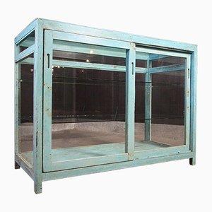 Wabi Sabi Counter Display Case in Turquoise