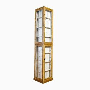 Wabi Sabi Corner Display Cabinet in White