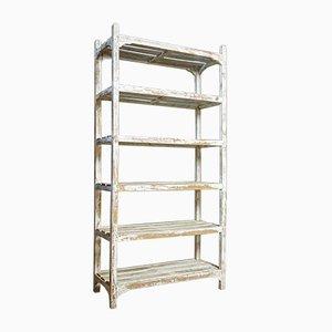 Large Wabi Sabi Shelf Cabinet in White
