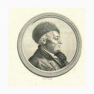 Thomas Trotter, Portrait eines Mannes, Original Radierung, 1810