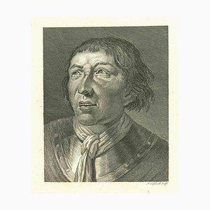 James Caldwell, Portrait eines Mannes, Original Radierung, 1810
