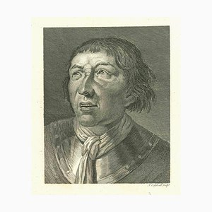 James Caldwell, Portrait of a Man, Original Etching, 1810
