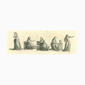 Thomas Holloway, Desperation, Original Etching, 1810