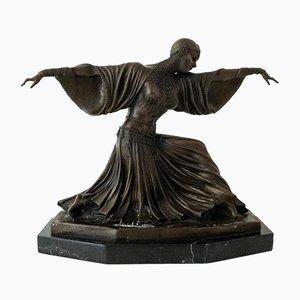 Art Deco Bronze Sculpture of Ballerina by Chiparus