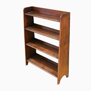 Small Graduated Open Oak Bookcase