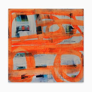 Street, Abstract Painting, 2015