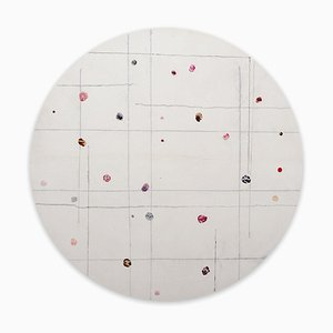 Tondo 7, Abstract Painting, 2020