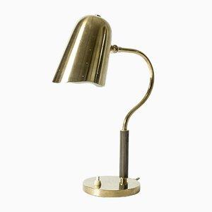 Mid-Century Swedish Brass Table Lamp
