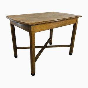 Oak Cafe Table, 1930s