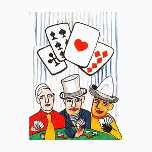 Joueurs de Cartes I by Alexandre Calder