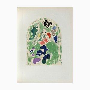 Jerusalem Fenster: Issachar, Skizze von Marc Chagall