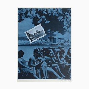 Bicentennial Kit - USA 76 - 19 by Jacques Monory