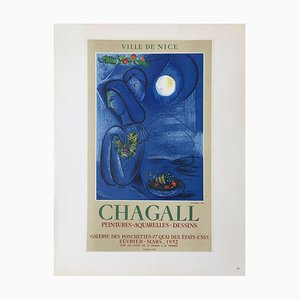 AF 1952: Ville de Nice Poster After Marc Chagall