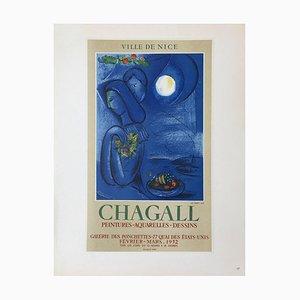 AF 1952: Ville de Nice Poster Nach Marc Chagall