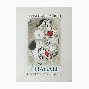 AF 1951: Kunsthaus Zürich Plakat Nach Marc Chagall