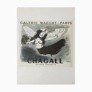 AF 1950: Galerie Maeght Poster After Marc Chagall