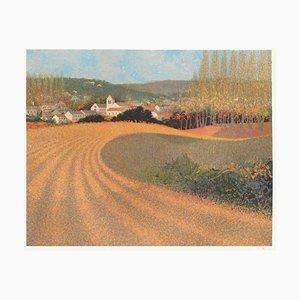 Autumn in Vauhallan von André Bourrié