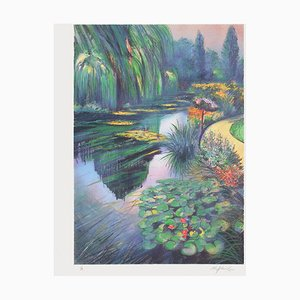 Giverny: Le bassin aux nymphéas chez Monet by Rolf Rafflewski