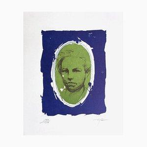 Rimbaud Variations VII by Ernest Pignon