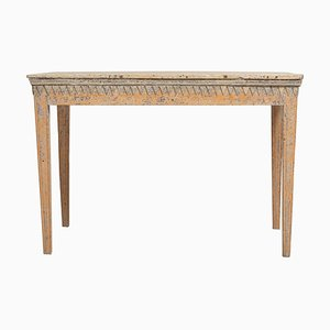 18th Century Swedish Gustavian Rustic Pine Side Table
