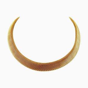 Handgefertigte 18 Karat Gelbgold Halskette