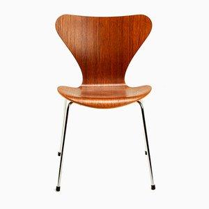 Chaise Série 7 en Teck par Arne Jacobsen pour Fritz Hansen, Danemark, 1970s