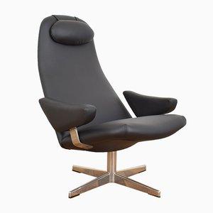 Mid-Century Contourette Roto Swivel Chair by Alf Svensson for Dux, 1960s